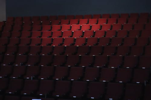 Free stock photo of chairs, cinema, salon