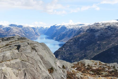 Free stock photo of fjord, landscape, mountain, mountains