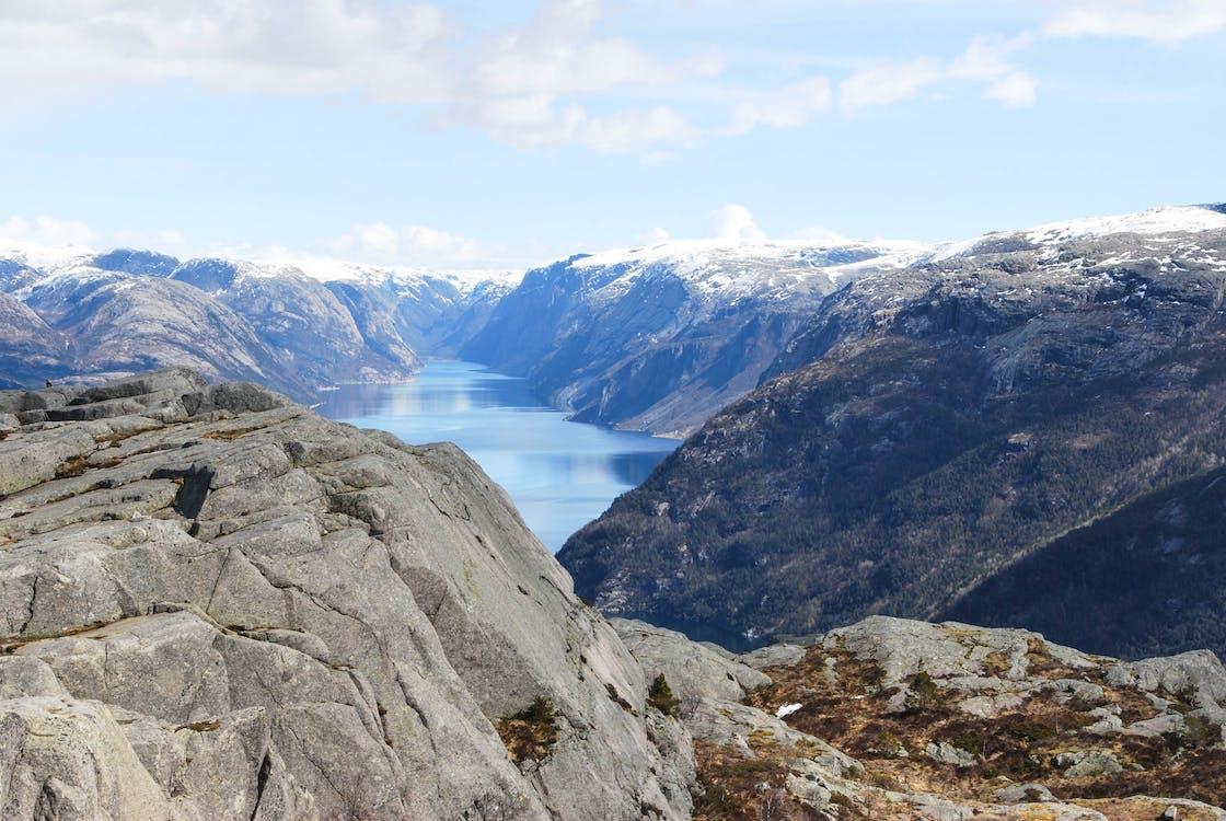 fiord, mare, munte