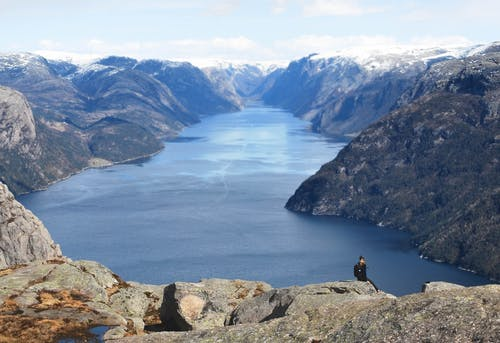 Free stock photo of fjord, horizont, landscape, mountain