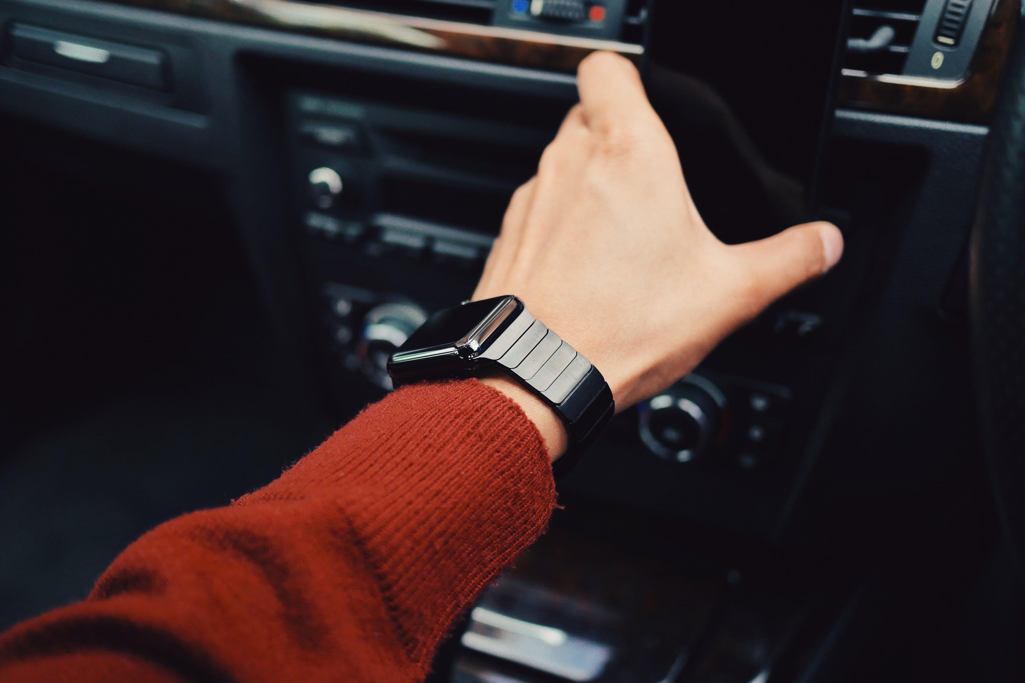 apple watch, arm, fashion