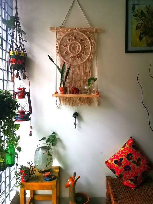 Foto profissional grátis de arte, decoração de casa, decorar