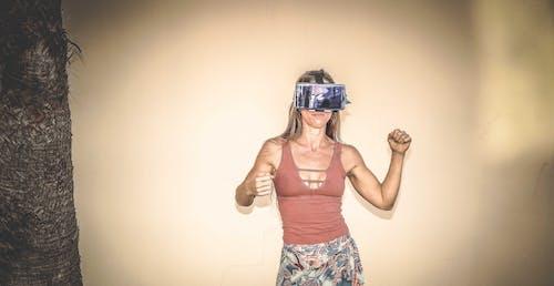Základová fotografie zdarma na téma dáma, holka, móda, náhlavní souprava na virtuální realitu