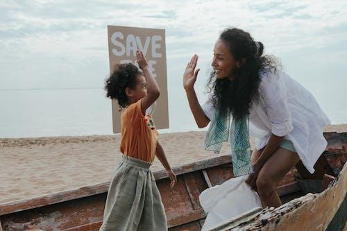 Fotos de stock gratuitas de afroamericano, chócala, costa