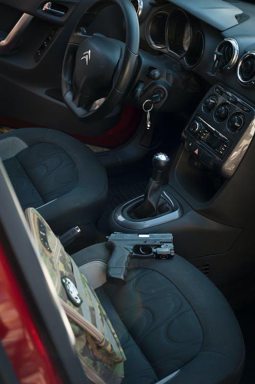 Gratis lagerfoto af betjeningspanel, bil, bindestreg
