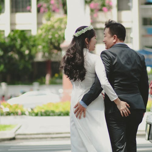 Free stock photo of ao dai, asian couple, asian girl