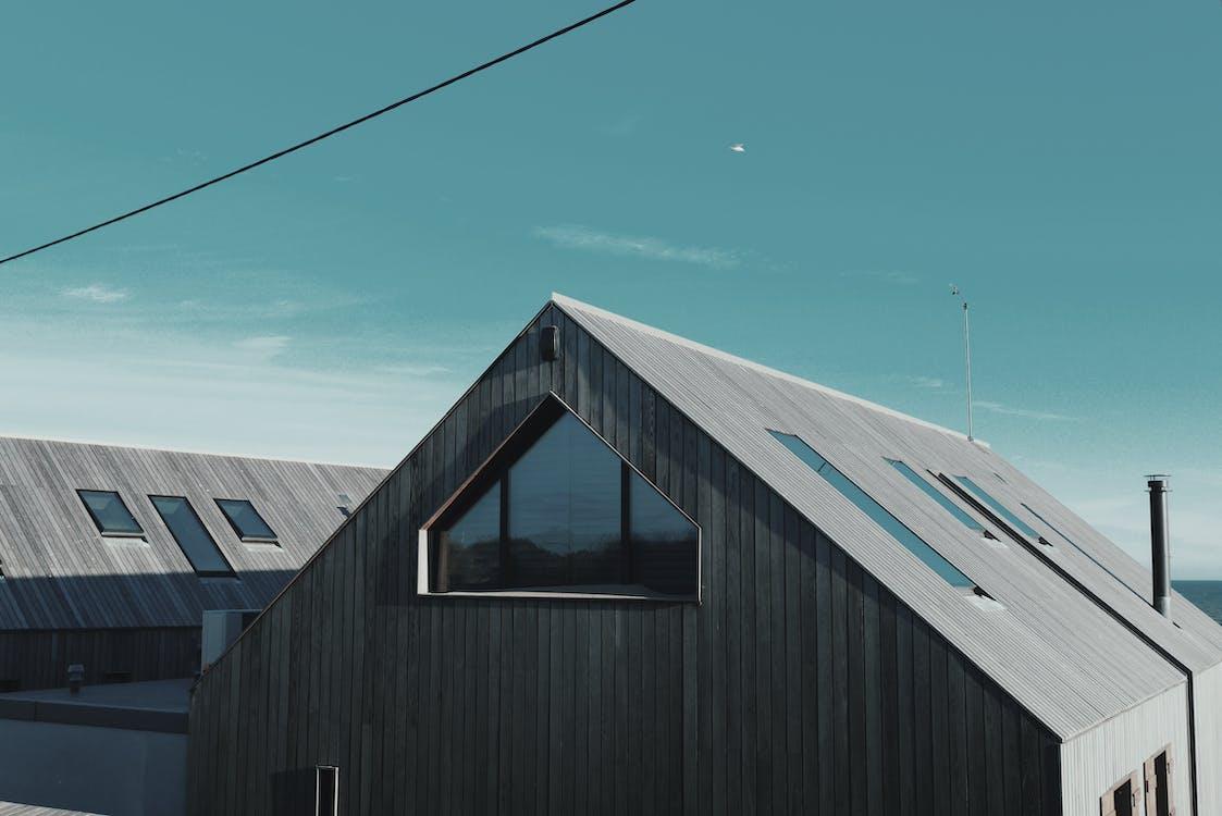 Gray Wooden Barn