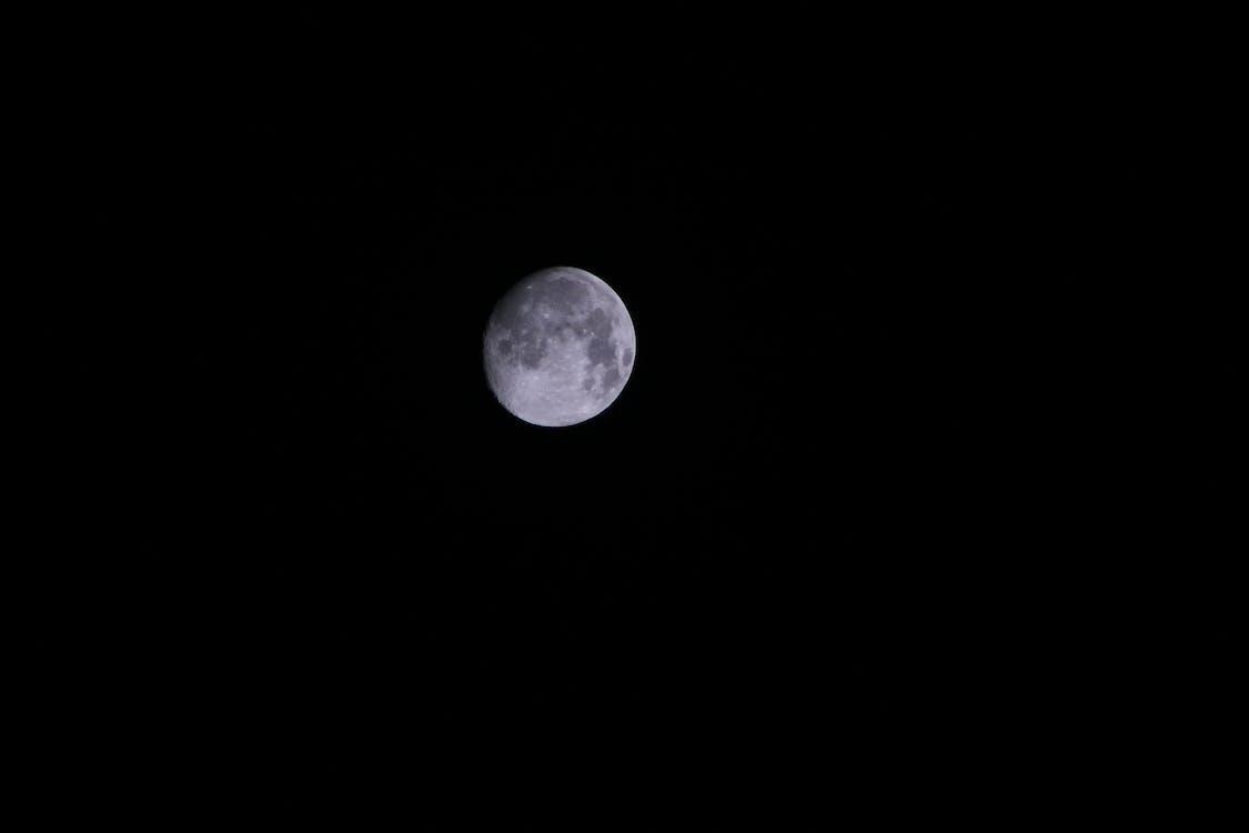 Kostnadsfri bild av måne, mörk, natt