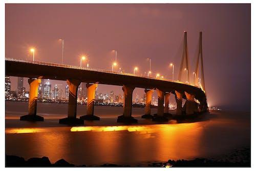 ムンバイ, 光の道, 長時間露光の無料の写真素材