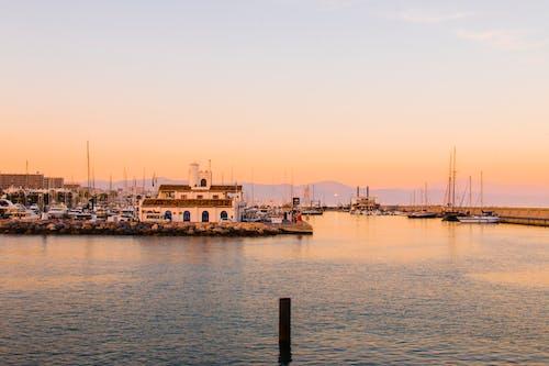 Gratis lagerfoto af både, hav, havn, portvin