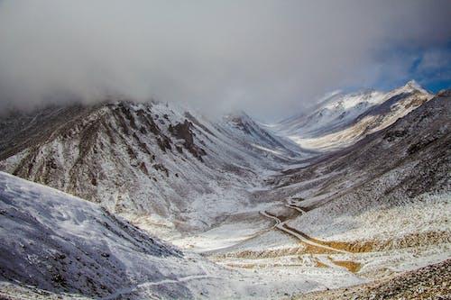 Foto stok gratis #outdoorchallenge, alam, awan, beku