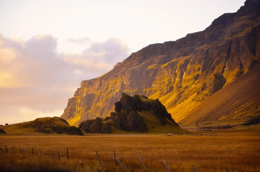 Free stock photo of iceland, sunset, clouds, mountain