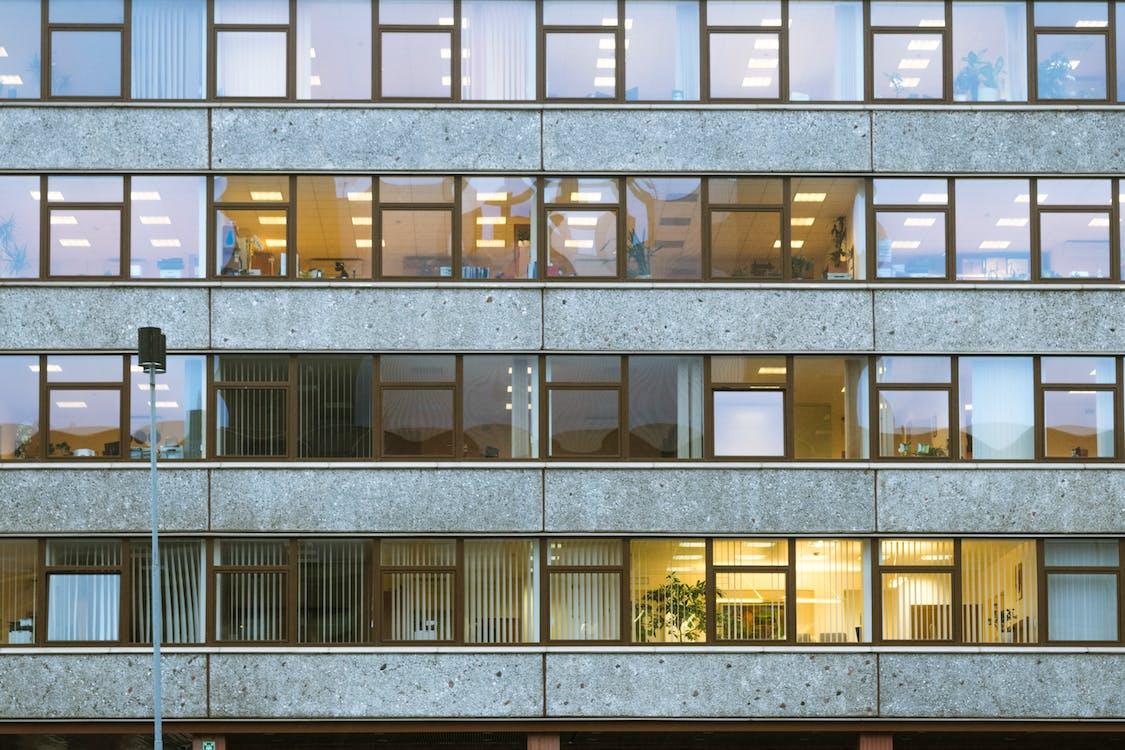 architektura, biuro, biurowiec