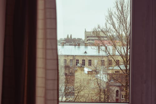 Free stock photo of nostalgic, observing, old photo, window view