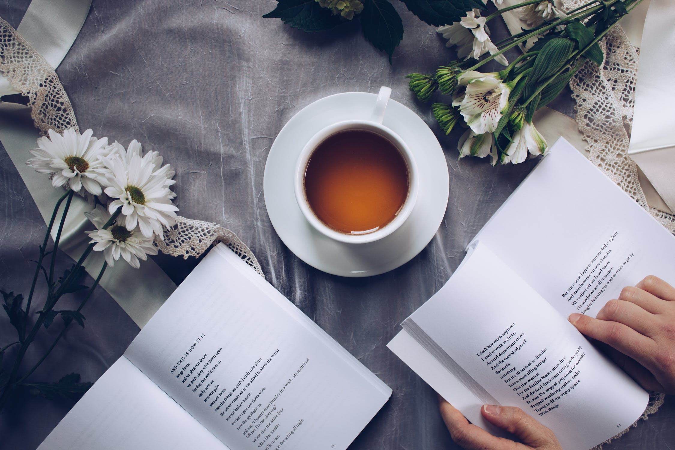 Read a Book With a Cup of Tea - The Book People
