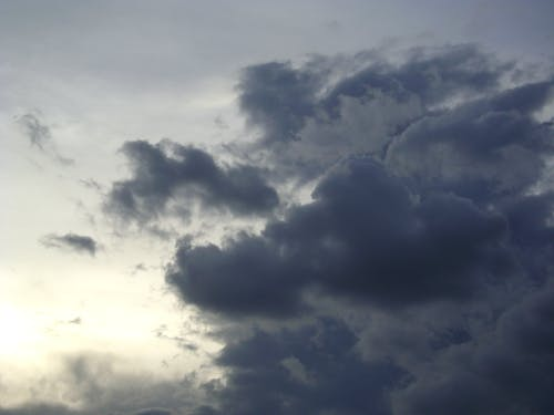 Free stock photo of cloudy
