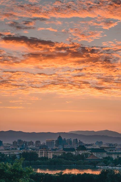 Безкоштовне стокове фото на тему «Захід сонця, пекін»