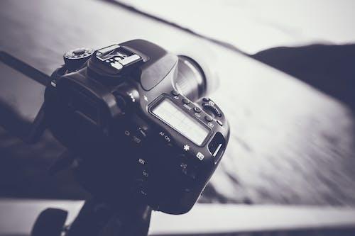 Základová fotografie zdarma na téma canon, časosběr, černá a bílá, černobílý