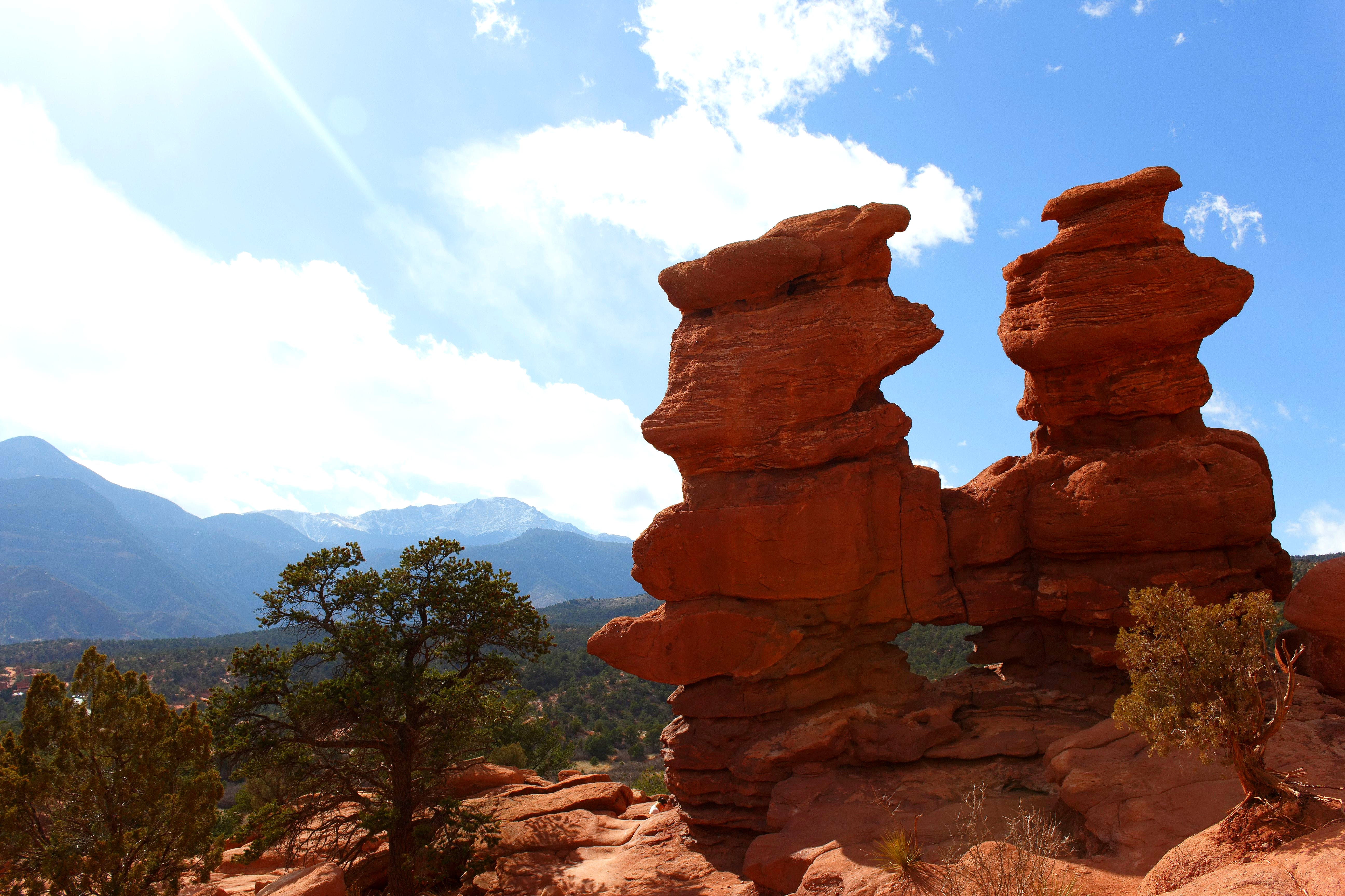 Free stock photo of colorado, garden of the gods, landscape, mountain