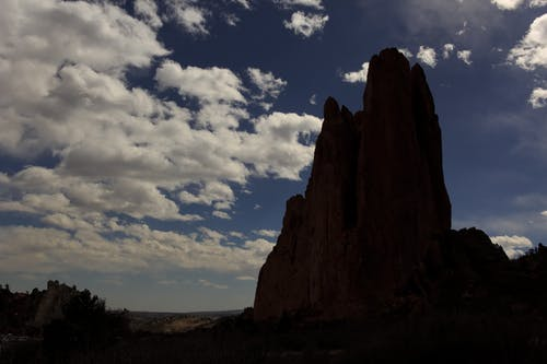 Photos gratuites de ciel, colorado, jardin des dieux, montagne