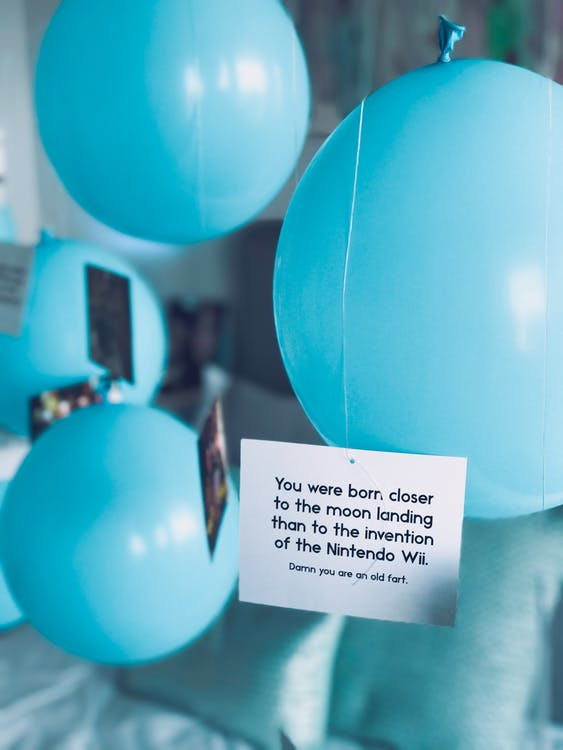 aniversari, blau, carta