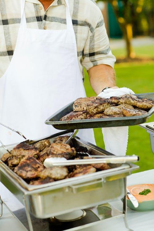 Ingyenes stockfotó barbecue, bbq, élelmiszer, Férfi témában