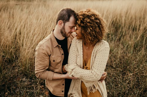 Free stock photo of affection, couple, embrace