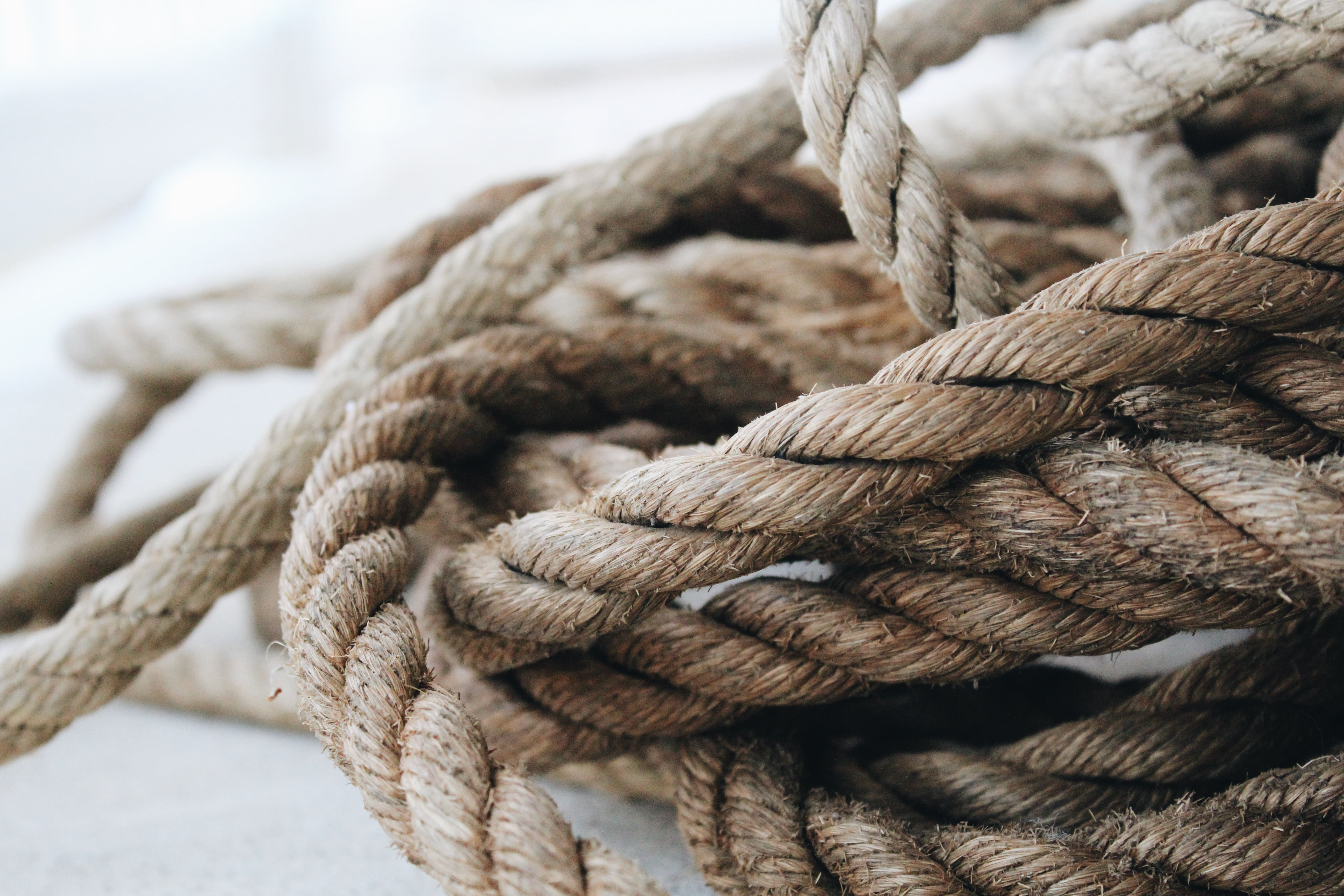 Close Up Photo of Rope