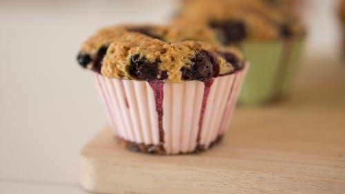 cupcake, cupcake'ler, Gıda, hamur işi içeren Ücretsiz stok fotoğraf