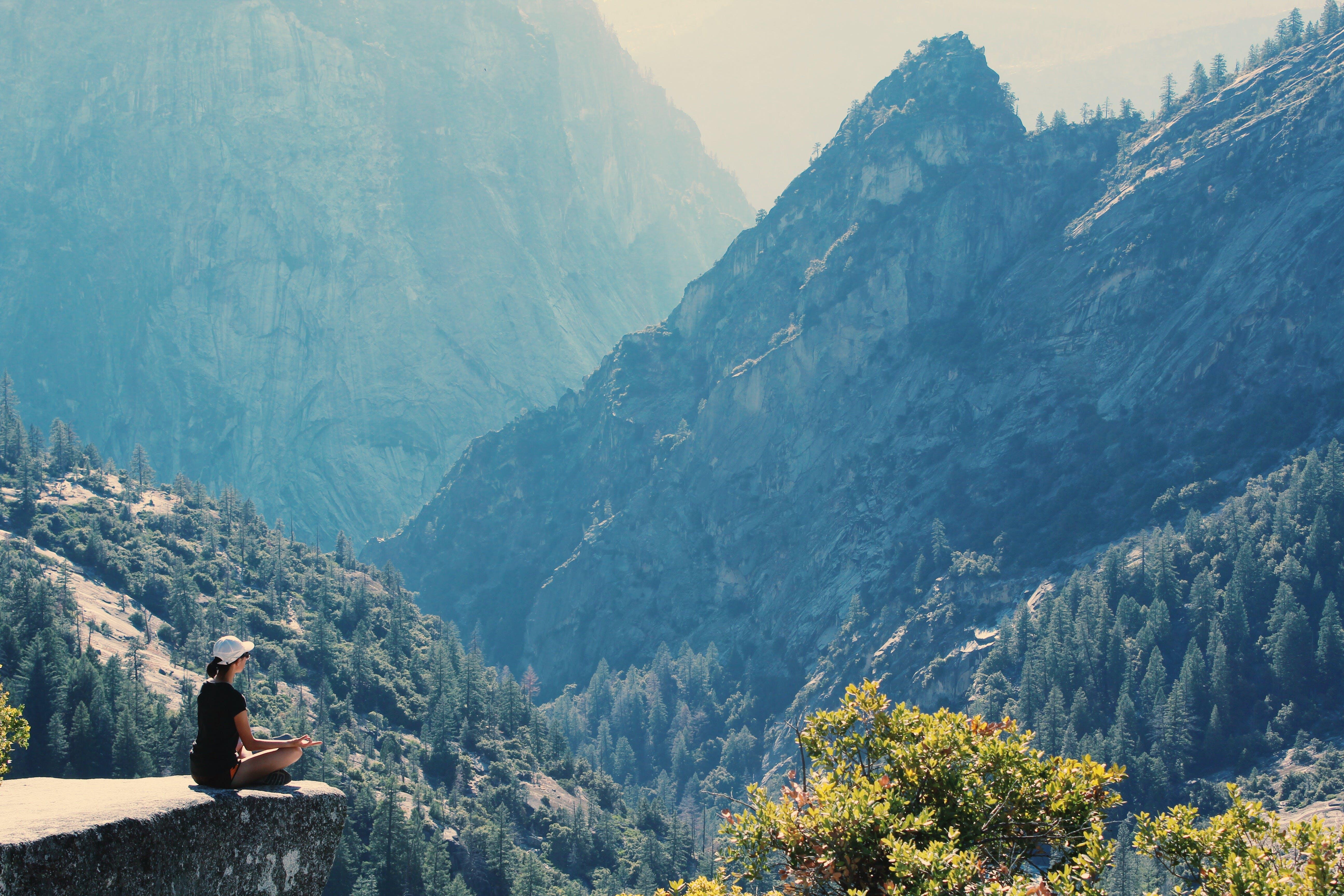 健行, 冒險, 冥想, 坐 的 免费素材照片