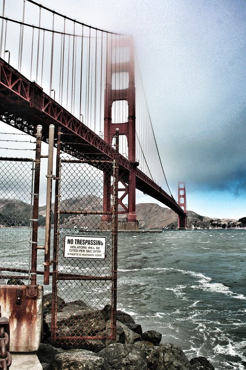 Gratis stockfoto met beroemde bezienswaardigheid, gaashek, Golden Gate Bridge, San Francisco