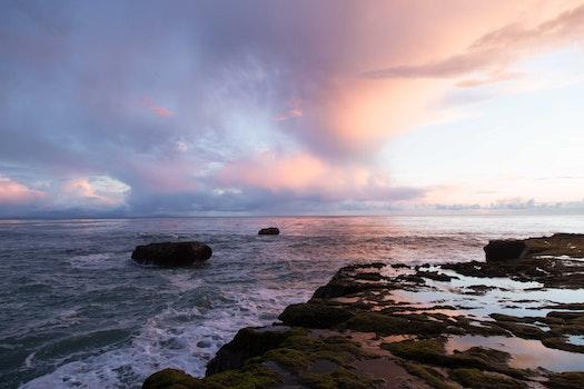 Free stock photo of sea, nature, ocean, waves
