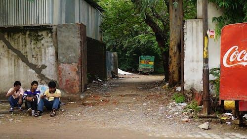 Free stock photo of delhi, friends, street