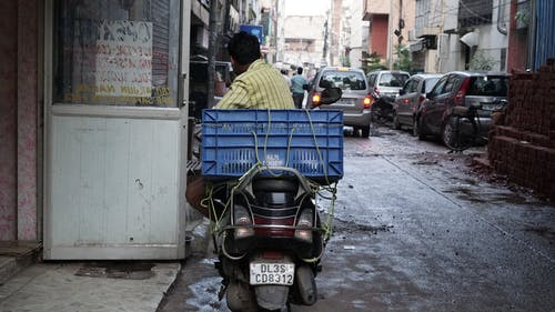 Free stock photo of delhi, india, scooter