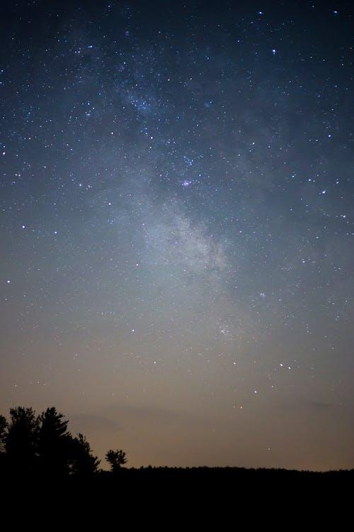 Fotobanka sbezplatnými fotkami na tému celebrity, galaxia, Mliečna cesta, noc