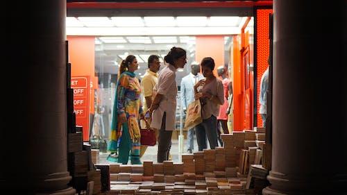 Free stock photo of books, curious, delhi