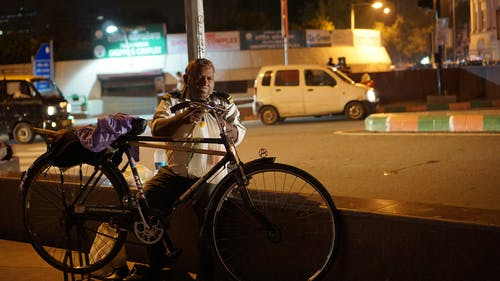 Free stock photo of bicycle, delhi, india