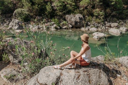 Ilmainen kuvapankkikuva tunnisteilla helpotus, ihmiset, järvi