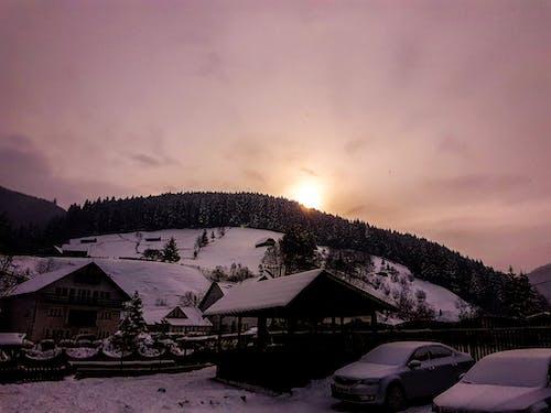 คลังภาพถ่ายฟรี ของ การแข่งขันกลางแจ้ง, การแข่งขันบนมือถือ, ภูเขา, ฤดูหนาว