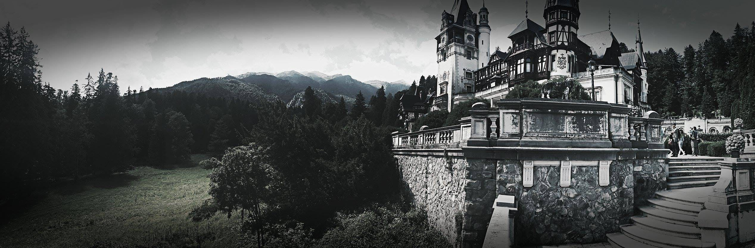 Free stock photo of black and white, castle, mobilechallenge, outdoorchallenge