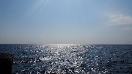 คลังภาพถ่ายฟรี ของ การแข่งขันกลางแจ้ง, การแข่งขันบนมือถือ, ขอบฟ้า, ทะเล