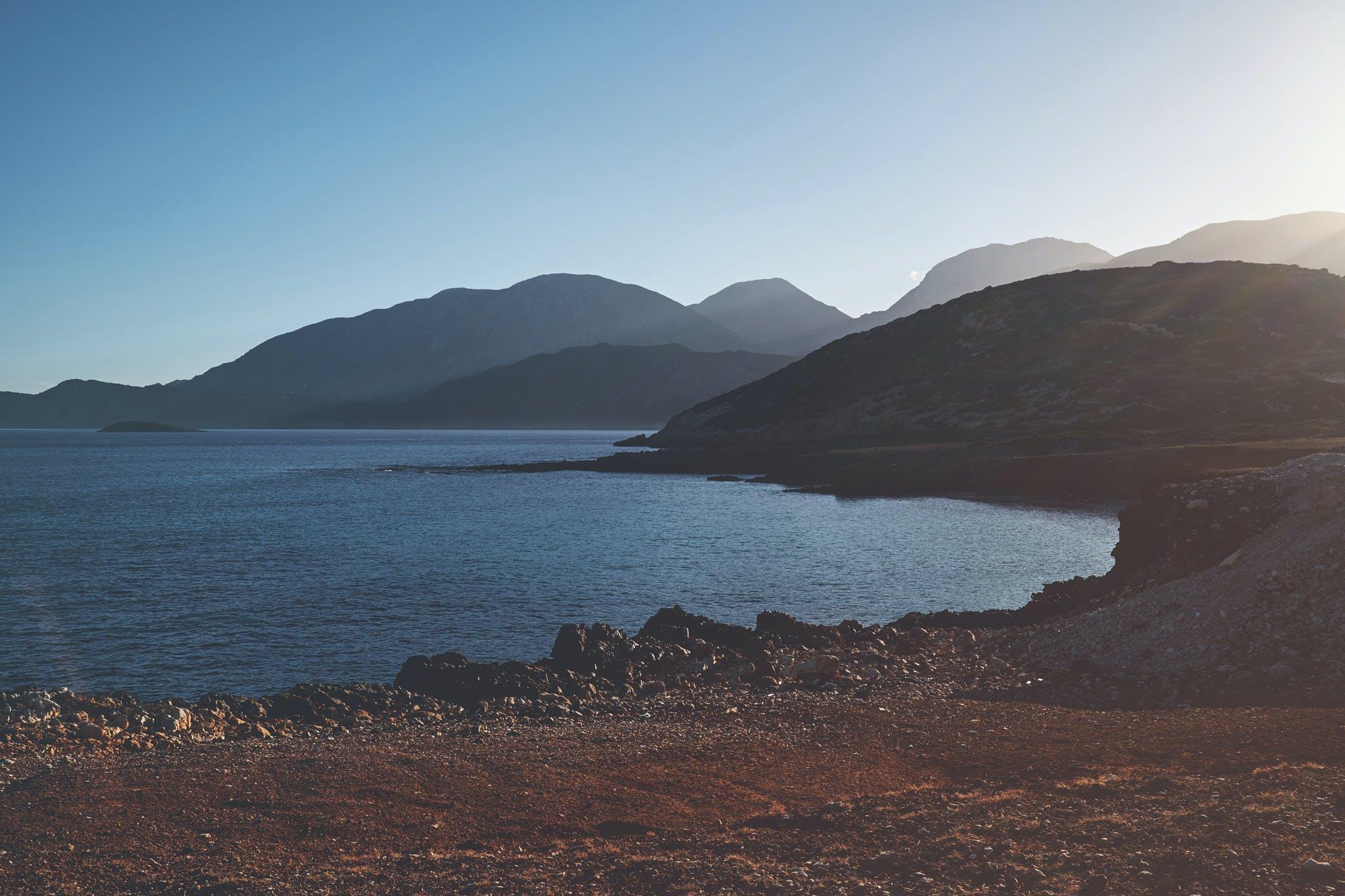 Photo of Sea and Mountain