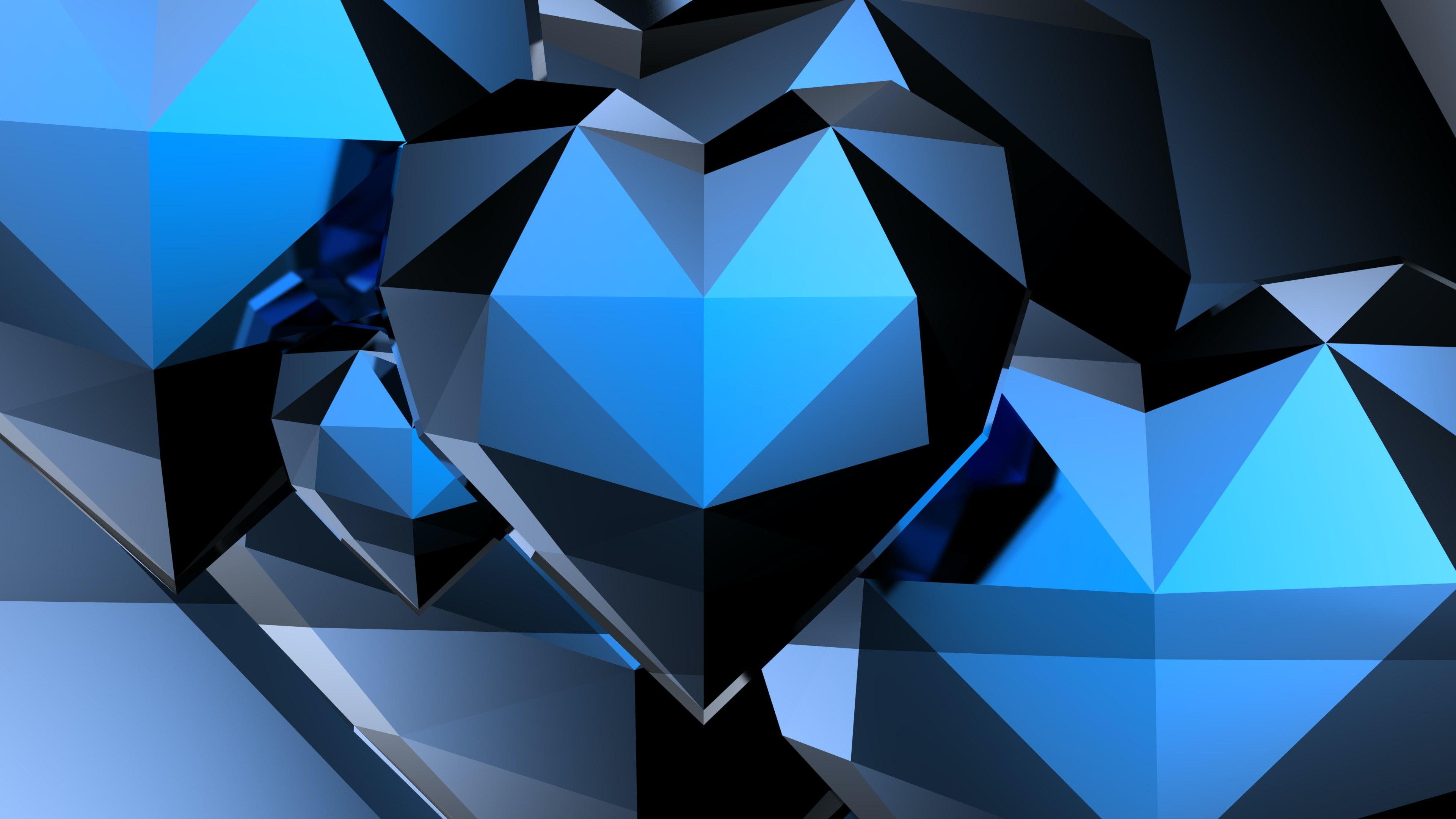 3dハート ハートの壁紙 ブルーハートの無料の写真素材