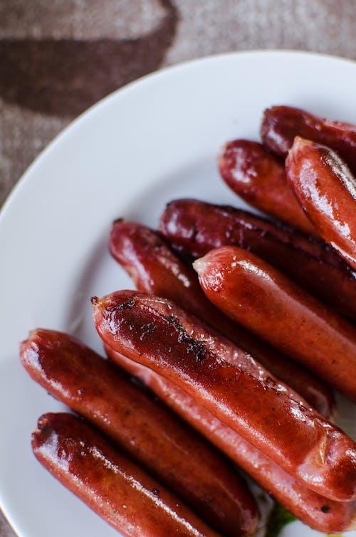 Kostenloses Stock Foto zu abendessen, bratwurst, chili