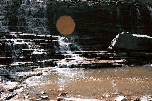 Darmowe zdjęcie z galerii z kamienie, kaskada, malowniczy, natura