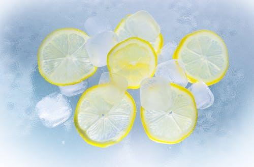 Základová fotografie zdarma na téma citrony, citrus fuit, citrusový, kostky ledu