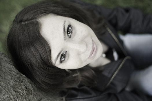 Woman Smiling Utside