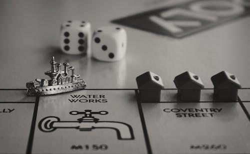 Miniature Items in Board Game