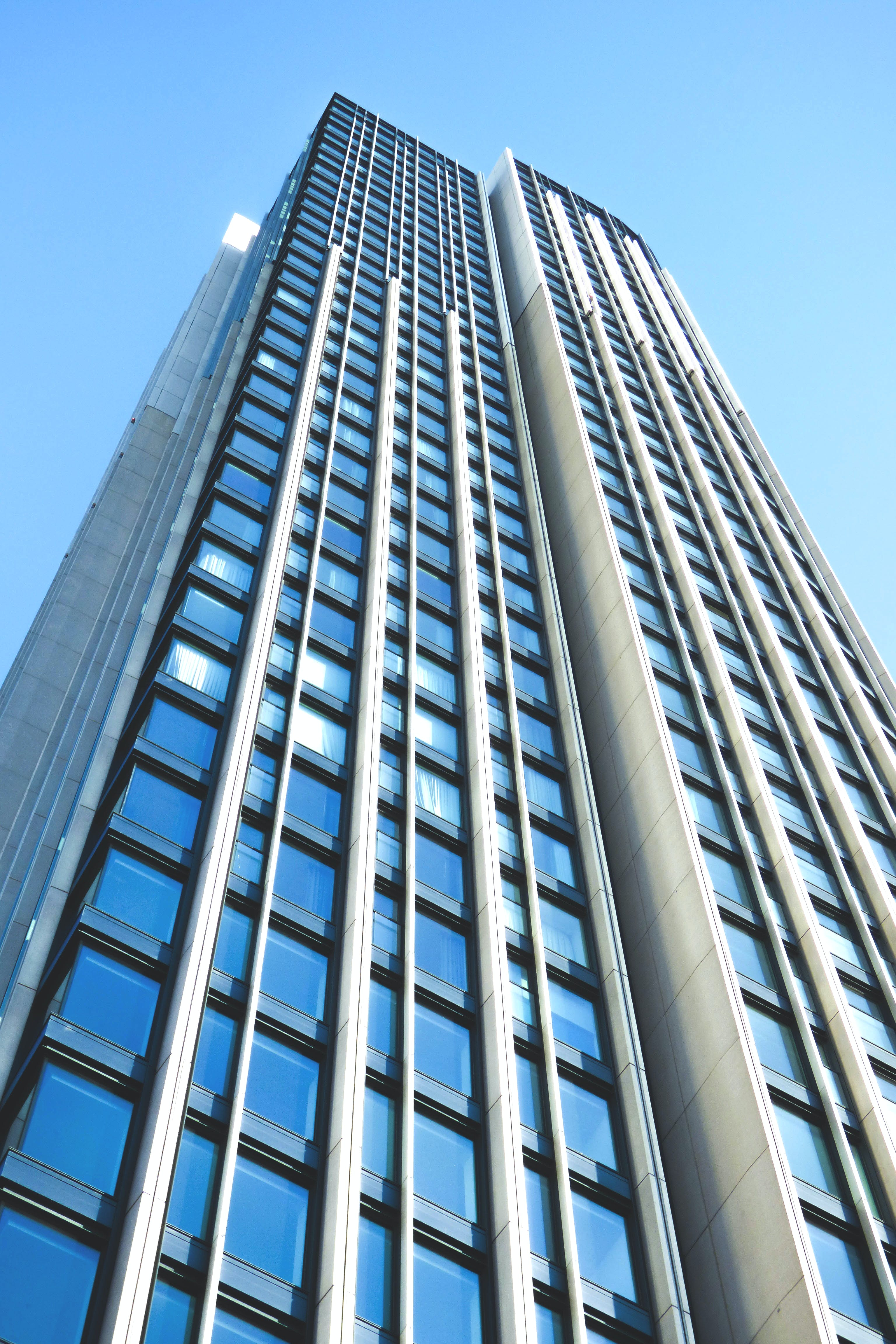 Building Worms Eye View Photo