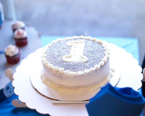Free stock photo of 1 year old, birthday cake, cake, first birthday
